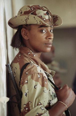 U.S. service women through the years