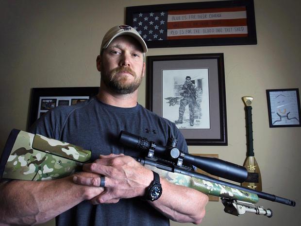 美国狙击手克里斯凯尔