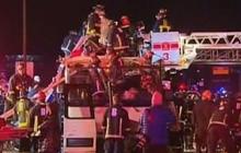 Calif. tour bus crash kills at least 8