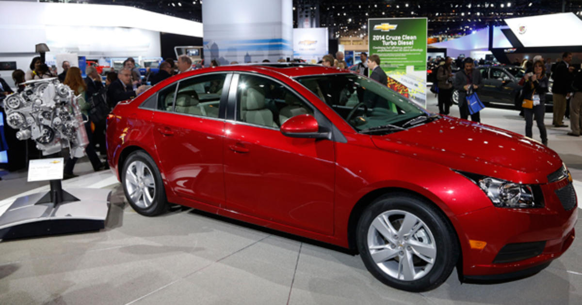 General Motors Introduces Chevrolet Cruze Diesel Cbs News