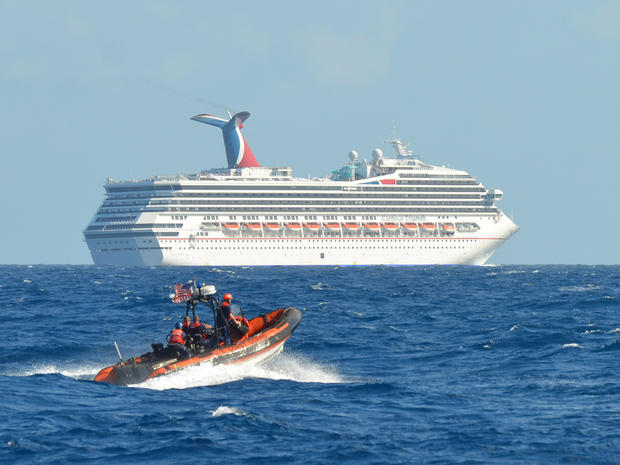 Aboard the Carnival Triumph cruise ship