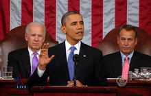 """Obama: """"State of our union is stronger"""""""