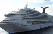 Triumph: Crippled cruise ship to dock soon