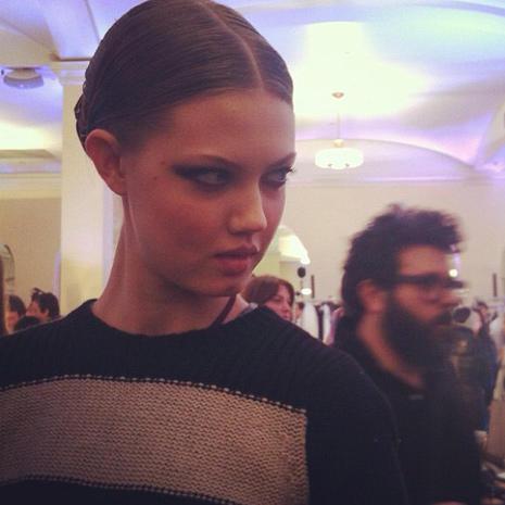 Instagram pics from NY Fashion Week