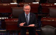 Reid slams GOP for delaying Hagel vote