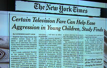 Some TV can help cut agression, study says
