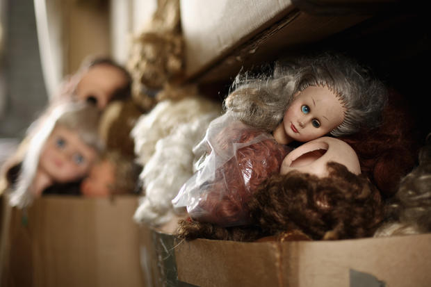 Doll hospital offers sanctuary for old toys