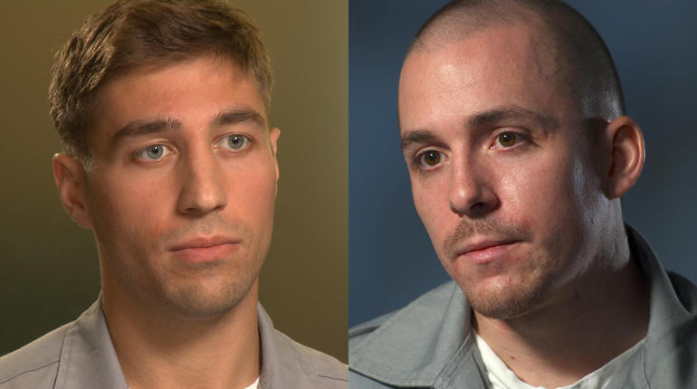 Ryan Ferguson, left, and his accuser, Charles Erickson.
