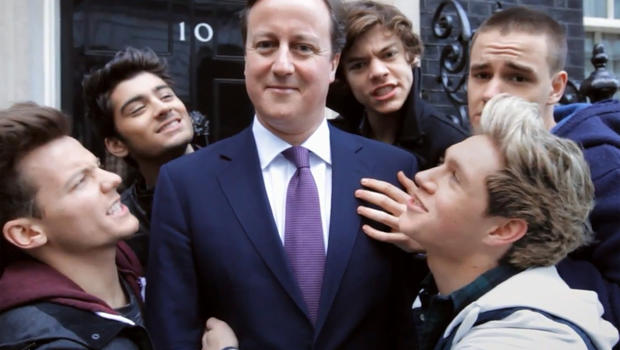 david cameron one direction - photo #12