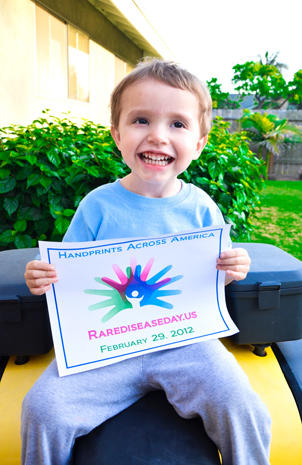 Rare Disease Day: Handprints across America