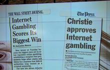 Gov. Christie legalizes internet gambling in N.J.