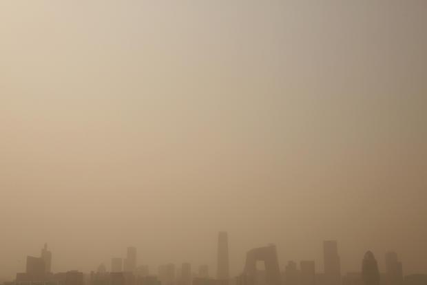 Sandstorm hits Beijing