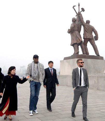 Dennis Rodman travels to North Korea