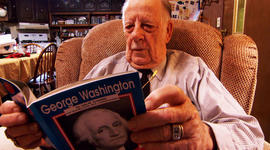 Last month, Ed Bray read a book about George Washington.