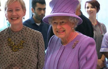 Queen Elizabeth hospitalized for stomach infection