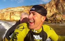 Anderson Cooper's wild ride with Garrett McNamara