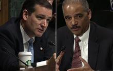 Cruz, Holder spar over potential drone strike on U.S. soil