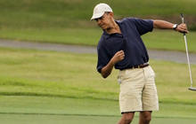 Swing and a miss? Sequester cuts threaten Obama's golfing