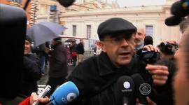 French Cardinal Philippe Barbarin tries to avoid questioning from media