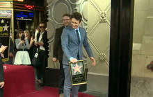 James Franco star unveiled on Walk of Fame