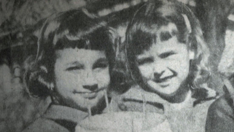 Maria Ridulph, left and her friend Kathy Chapman