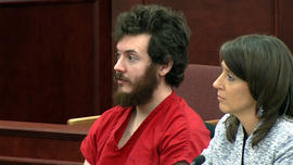 "Judge enters plea of ""not guilty"" for James Holmes"
