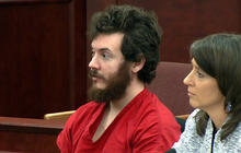 "Judge enters ""not guilty"" plea for James Holmes"