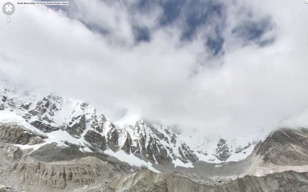 Google Maps views of Earth's highest mountains