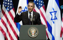 Obama calls for fresh start in Israeli, Palestinian peace