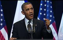 """Obama: Peace is """"the only path to true security"""" for Israel"""