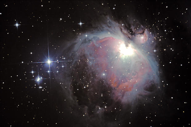 Photographing outer space