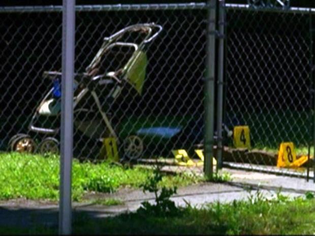 Ga. baby fatally shot in stroller