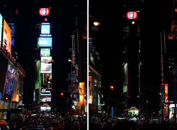 Cities go dark for Earth Hour 2013