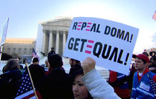 Supreme Court justices hint at striking down DOMA