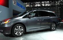 Honda's van with a vac