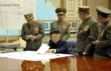 """North Korea in """"state of war"""" with the South"""
