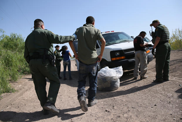 Drama on the U.S.-Mexico border