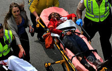 Boston hospitals respond to bombing injuries