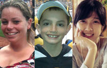 Faces of the victims