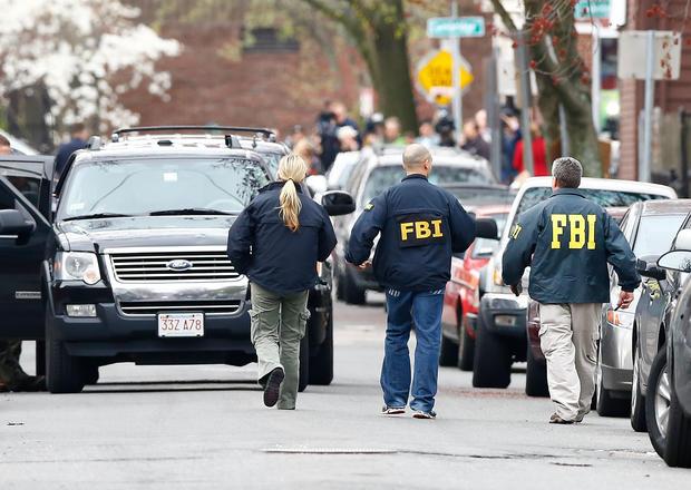Manhunt for Boston bombing suspects