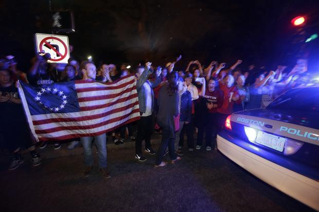 After a week of terror, Boston exhales