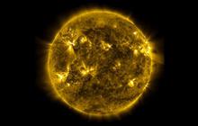 """NASA images show """"Sun's violent dance"""""""