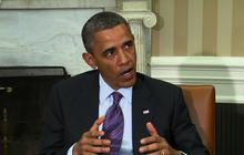 "Obama reiterates: Syrian WMD use a ""game changer"""