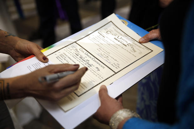 Colorado's first same-sex marriage