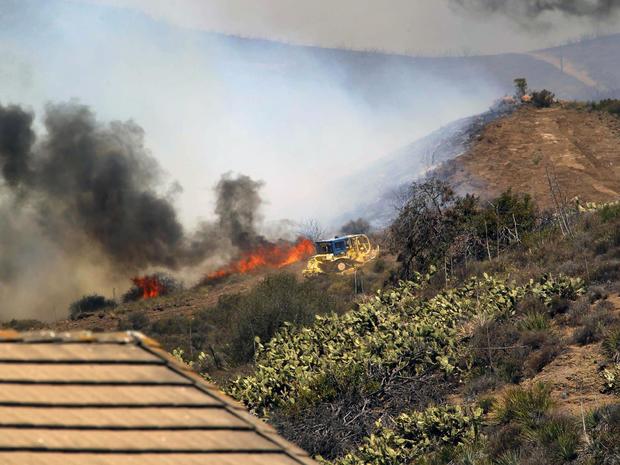 Calif. wildfire season starts early