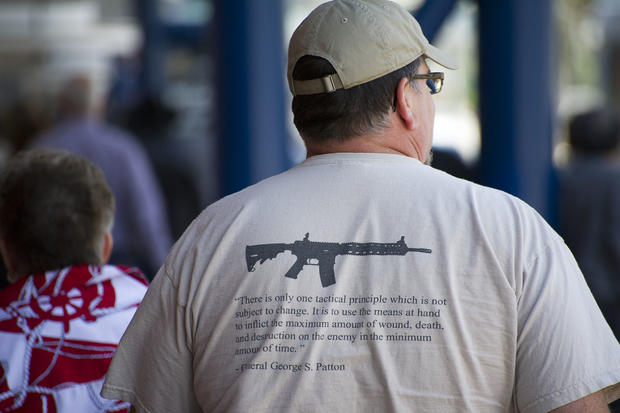 National Rifle Association convenes in Houston