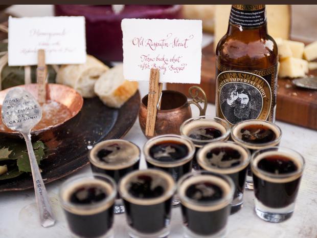 12 top wedding food trends