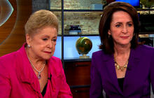 Eye-Opening Moms: Mary Higgins Clark and daughter Carol Higgins Clark