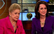 Eye-Opening Moms: Mary Higgins Clark and daughter Carol Higgins Clark