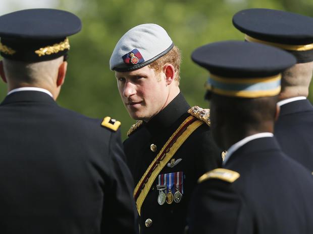 Prince Harry in Washington